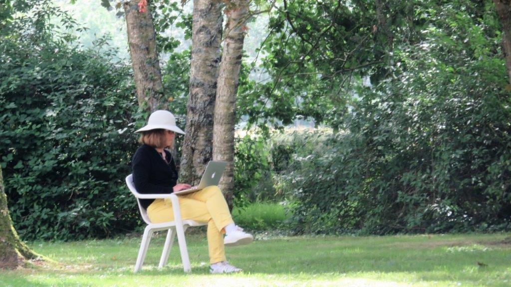 Atelier d'écriture La Joncheraie printemps 2018 Bourgogne