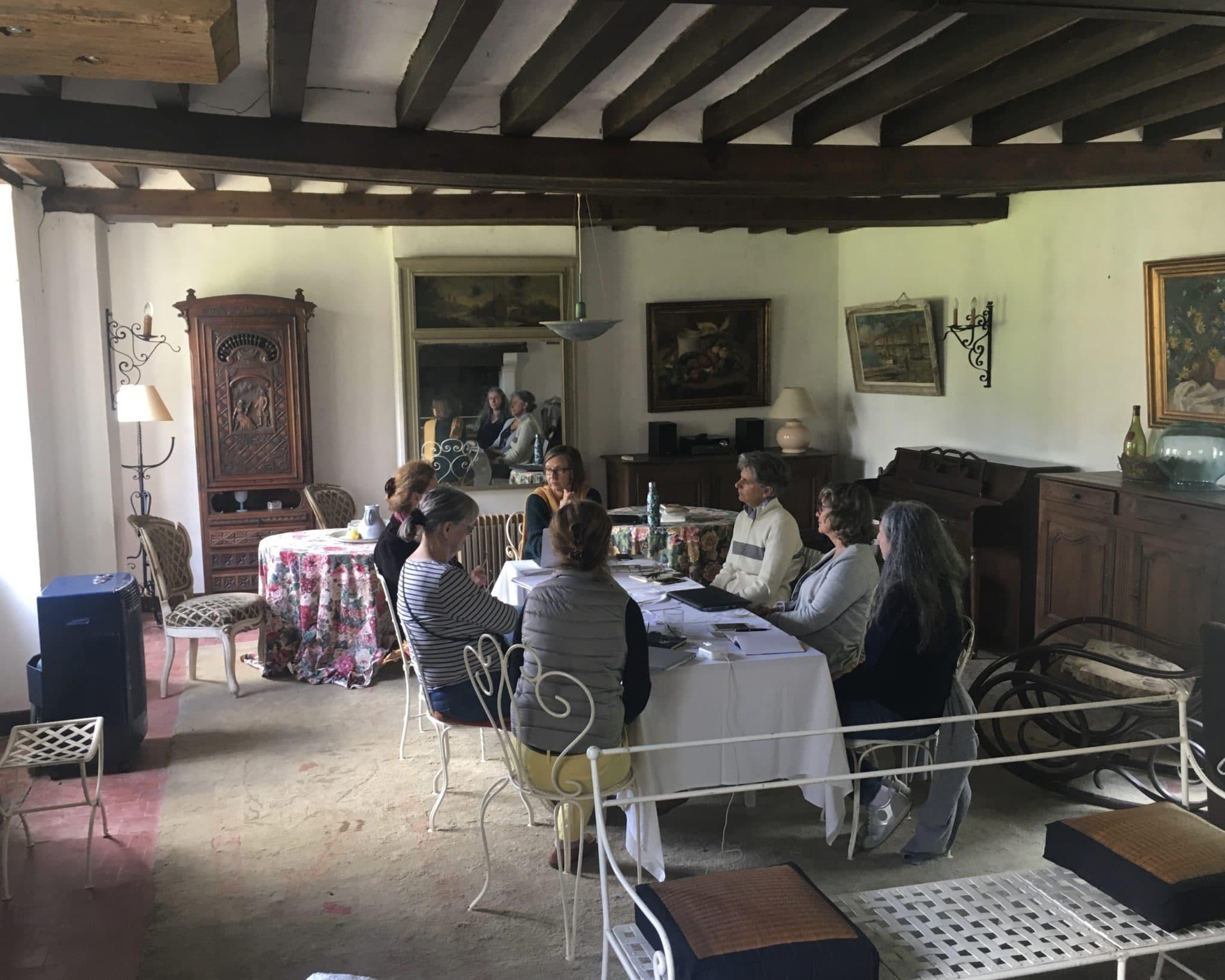 Un atelier d'écriture «écrire avec Colette»